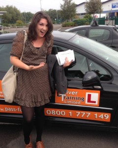 Intensive driving lessons Telford