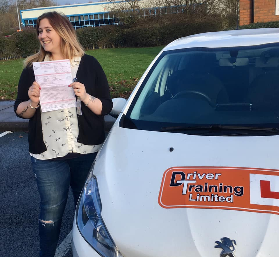 female driving instructor automatic car telford