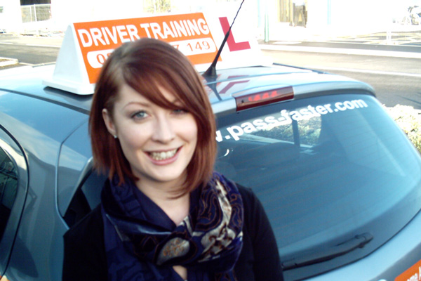 female driving instructor telford